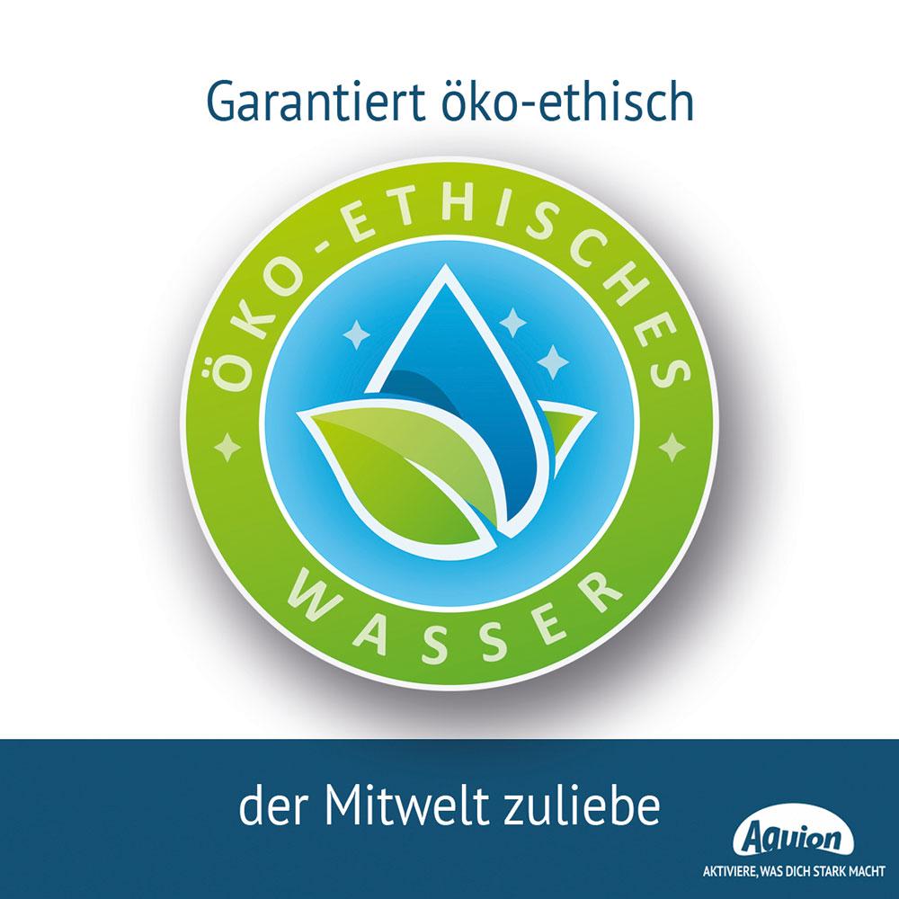 Öko Ethisches Wasser Siegel